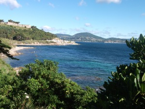 coastal path from St Tropez