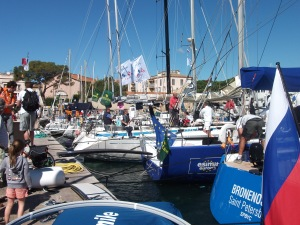 HARBOUR ST TROPEZ - OCEAN GOING SAILING BOATS.
