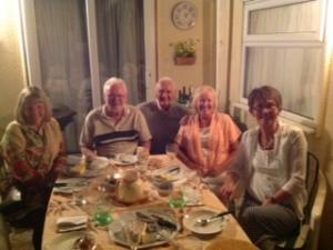 Chris, Geoff, Brian, Anne and Jean.