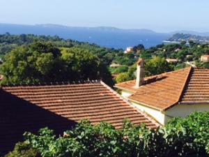 view from la croix valmer