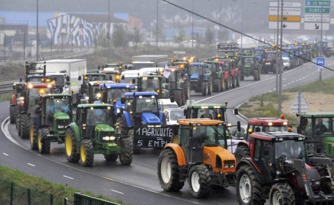 farmers strike
